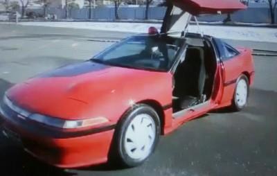 西部警察の赤い車car